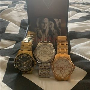 Three guess watches
